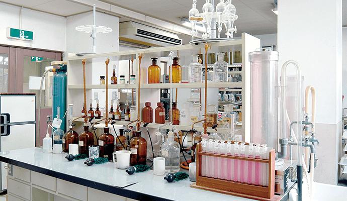 日根野水質試験室